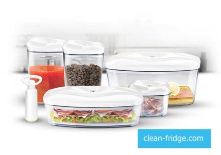 Get to know 5 principles of clean and fragrant fridge